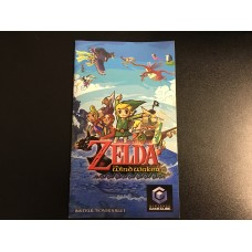 The Legend Of Zelda The Wind Waker - MANUAL ONLY