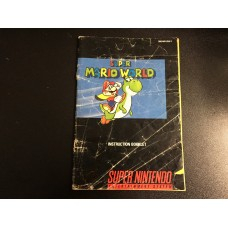 Super Mario World - MANUAL ONLY