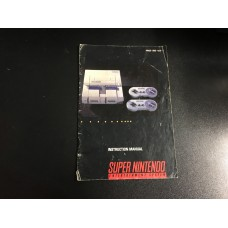 Console Instruction Manual - MANUAL ONLY