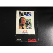 Madden NFL 95 - MANUAL ONLY