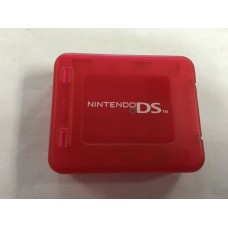 Nintendo DS Clear Red Cartridge Case
