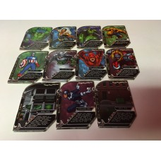 Hyper Scan Marvel Heroes - 11 Cards