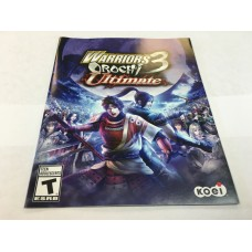 Warriors Orochi 3 Ultimate - MANUAL ONLY