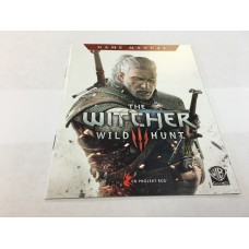 The Witcher III Wild Hunt - MANUAL ONLY
